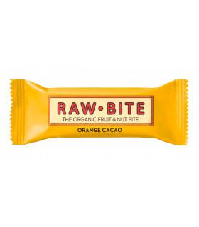 RAWBITE barrita energética saludable de naranja y cacao